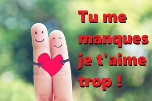 Message Tu Me Manques